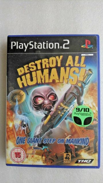 Destroy All Humans (Sony PlayStation 2, 2005)